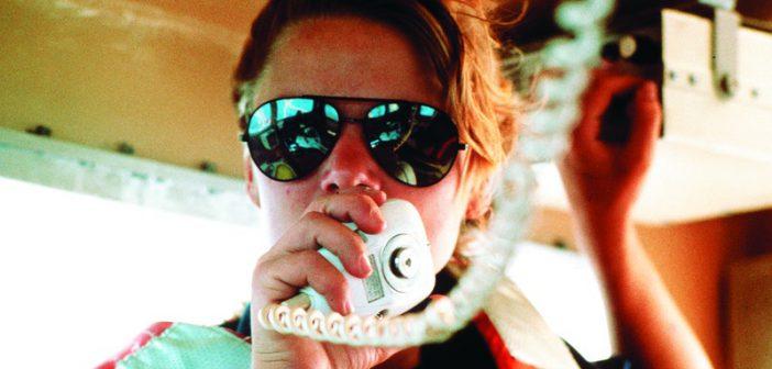 US Coast Guard Officer on radio